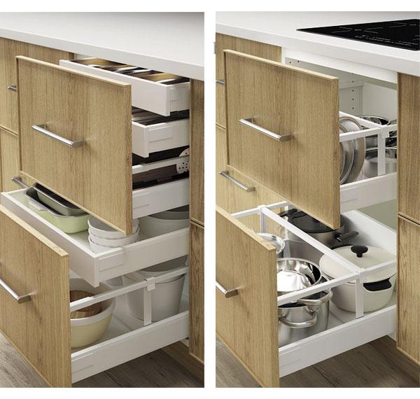 accessoires rangement tiroir cuisine