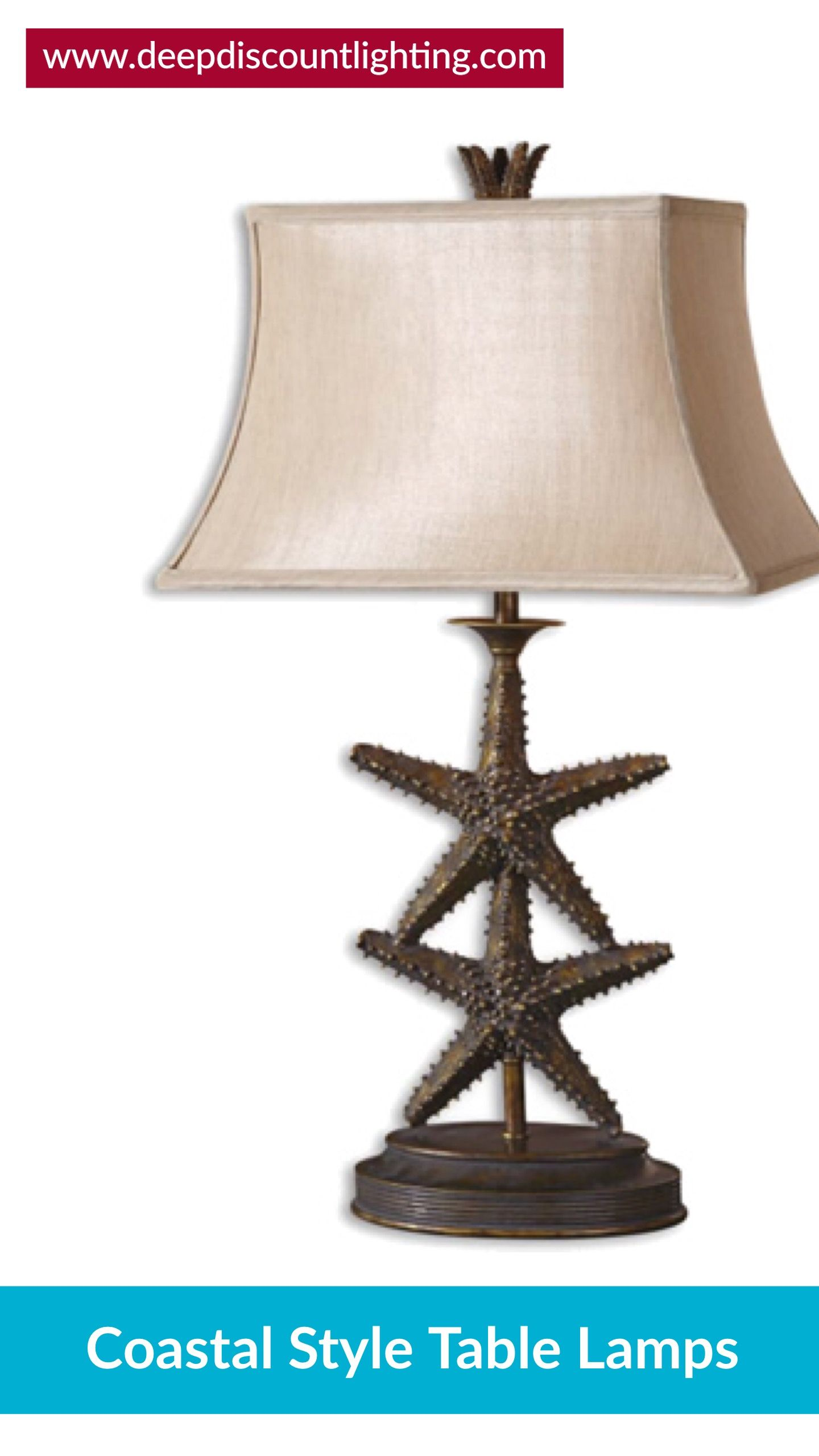 Coastal Style Table & Floor Lamps Coastal Living with