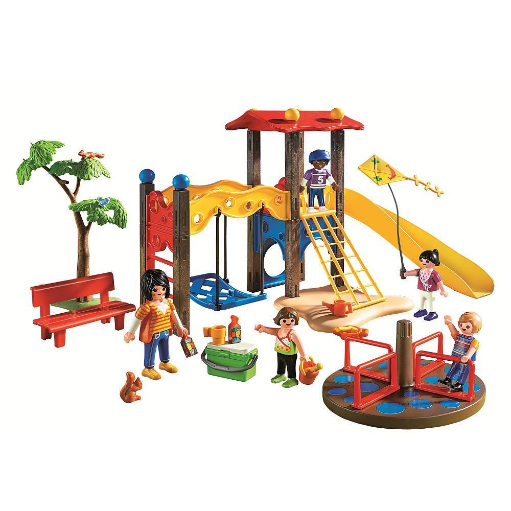 Playmobil Playground Backyard Toys For Kids Kids Playground Kids Outdoor Playground