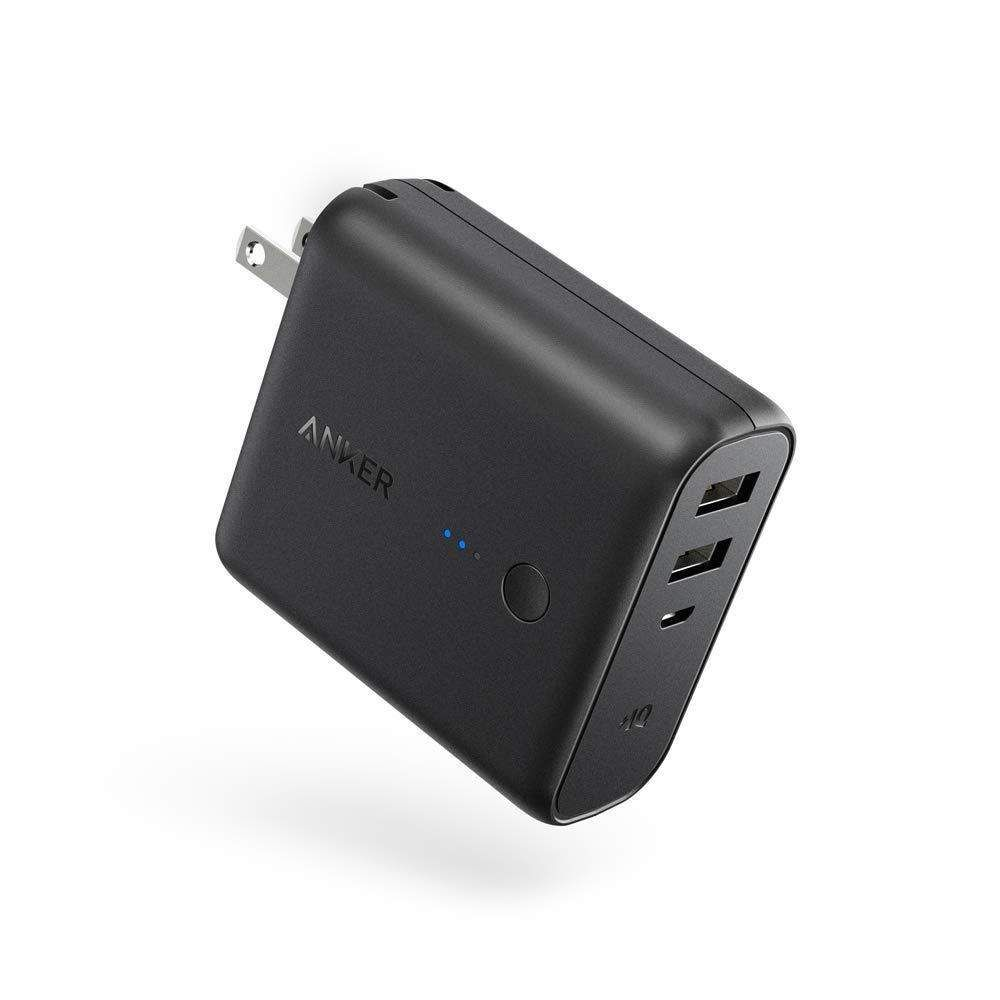 amazon anker powercore fusion mah with dual usb wall