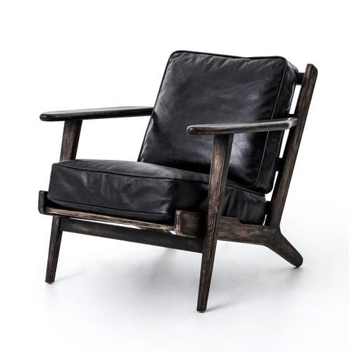 Topgrian Leather Chair Armchair Oak Oakfinish Modern Style Design Interiordesign Leather Lounge Chair Leather Lounge Lounge Chair