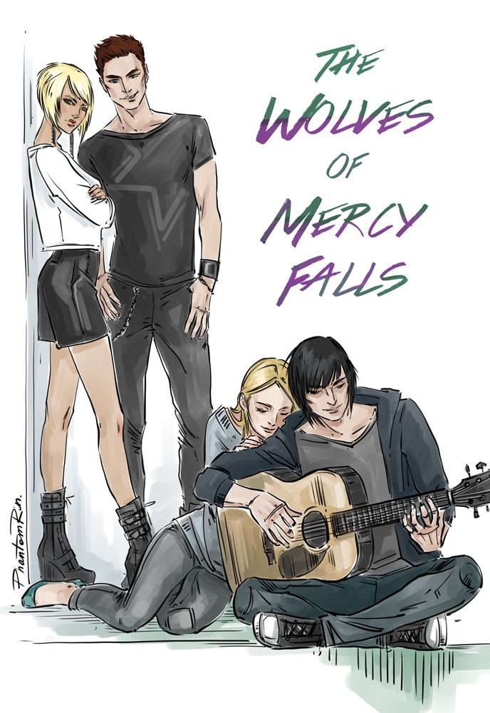 """the mighty bunch (""""The Wolves of Mercy Falls"""" by @maggie-stiefvater)"""
