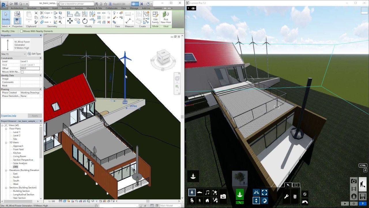 Lumion Livesync For Revit How To Use Livesync Revit Architecture Architecture Building Design Architecture Design