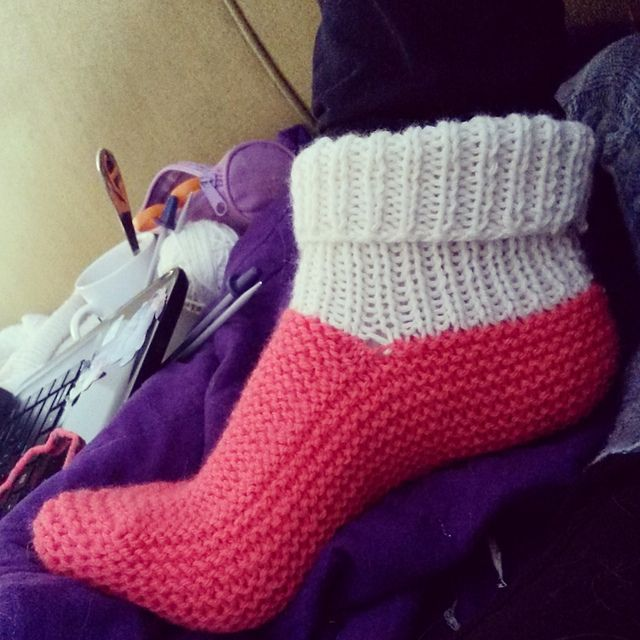 Ladys And Childs Bed Socks Pattern By Patons Australia Knitting