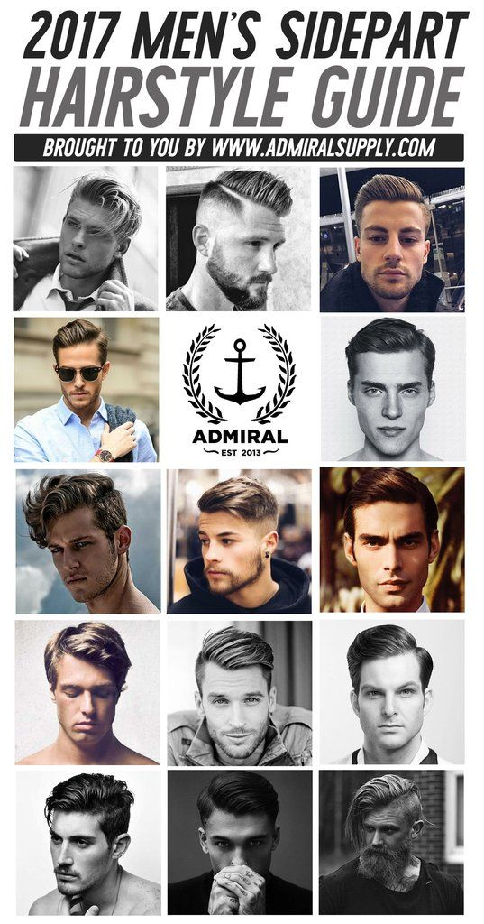 Admiral\'s 2017 Side Part Lookbook | Men\'s Hairstyle | Pomade ...
