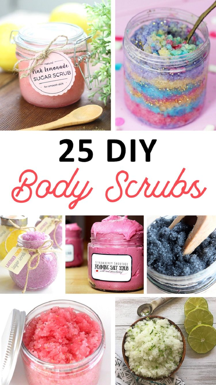 Sugar Scrub Recipes #sugarscrubrecipe