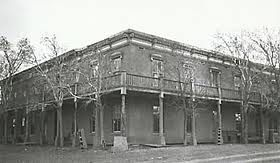 St James Hotel Cimarron New Mexico Built 1872 With Saloon
