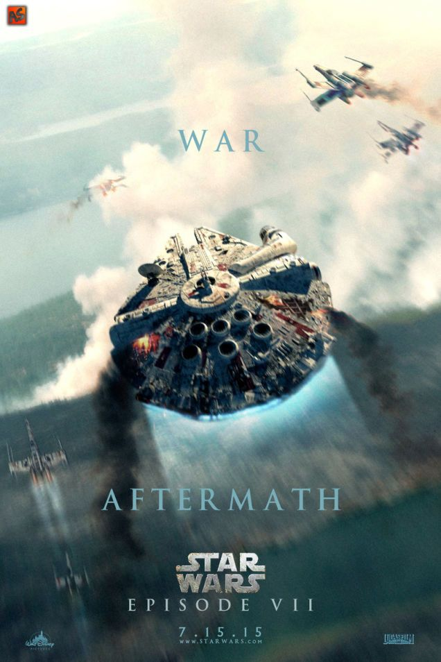 these star wars: episode 7 fan posters are so good they gave us