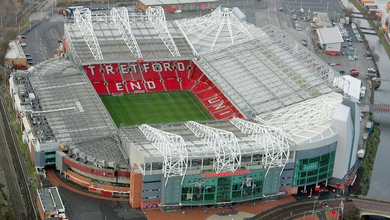 manchester united stadium in lego