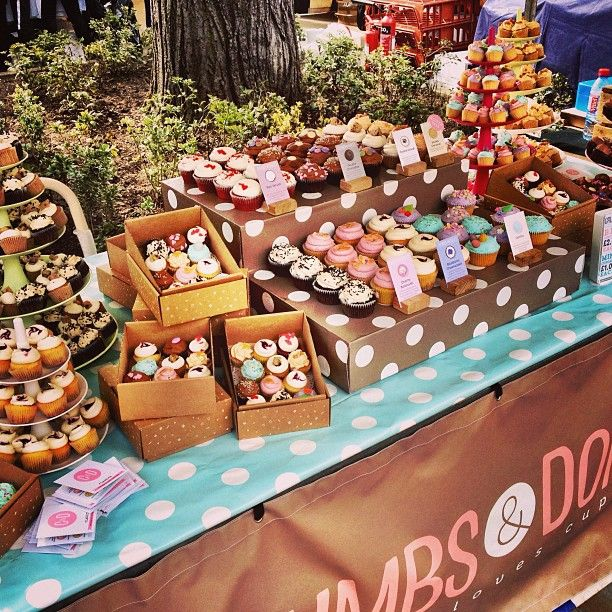 Cupcake Stalls Google Search Farmers Market Market