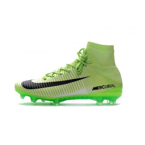 new product aaa5f 66102 Nike Mercurial - Goedkoop 2017 Nike Mercurial Superfly V CR7 Groen Zwart  Heren Voetbalschoenen Fútbol Nike