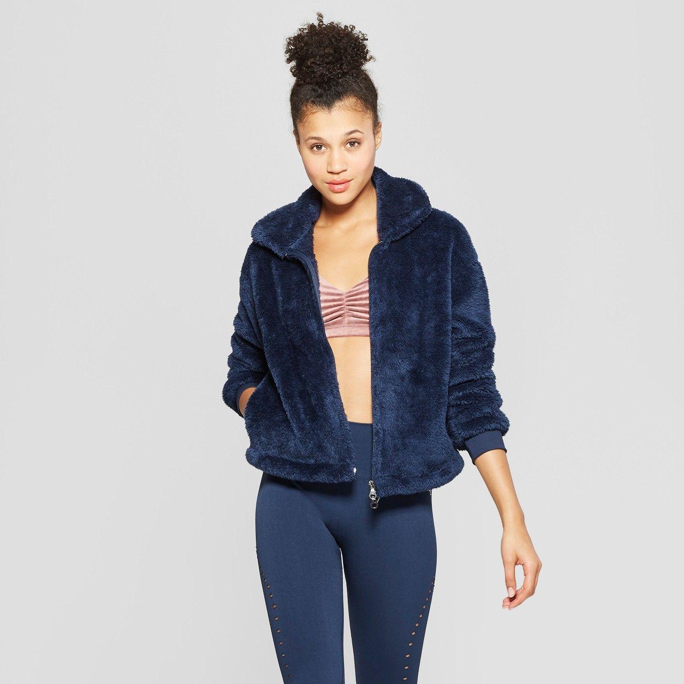 Women's Sherpa Full Zip Jacket JoyLab™ image 1 of 2