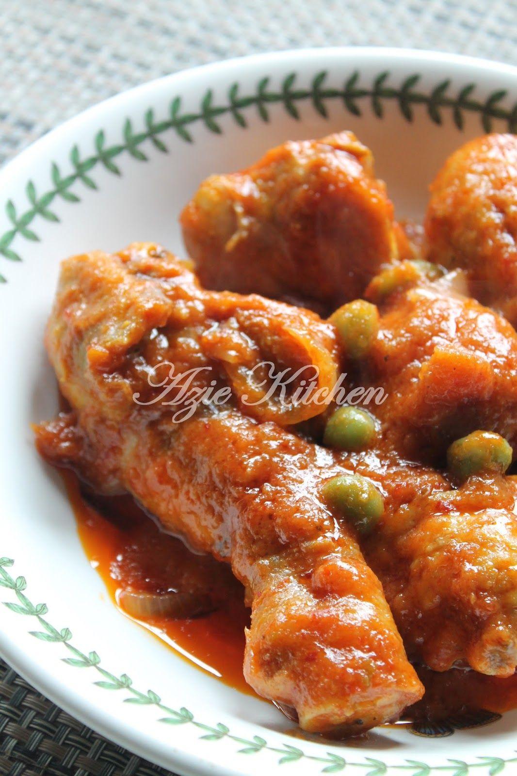 Ayam Masak Merah Sedap Di Hari Raya Aidil Adha Resep Masakan Asia Resep Ayam Resep Masakan
