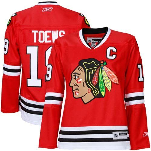 6d2e0bae46e Reebok Jonathan Toews Chicago Blackhawks Women's Premier Jersey-Red ...