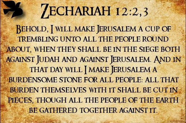 Image result for zechariah 12:3 endtimesresearchministry