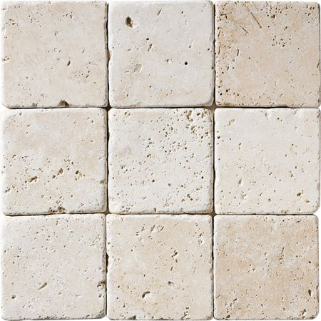 Tumbled Travertine Ivory 4x4 Travertine Tile Tumbled Travertine Tile Travertine