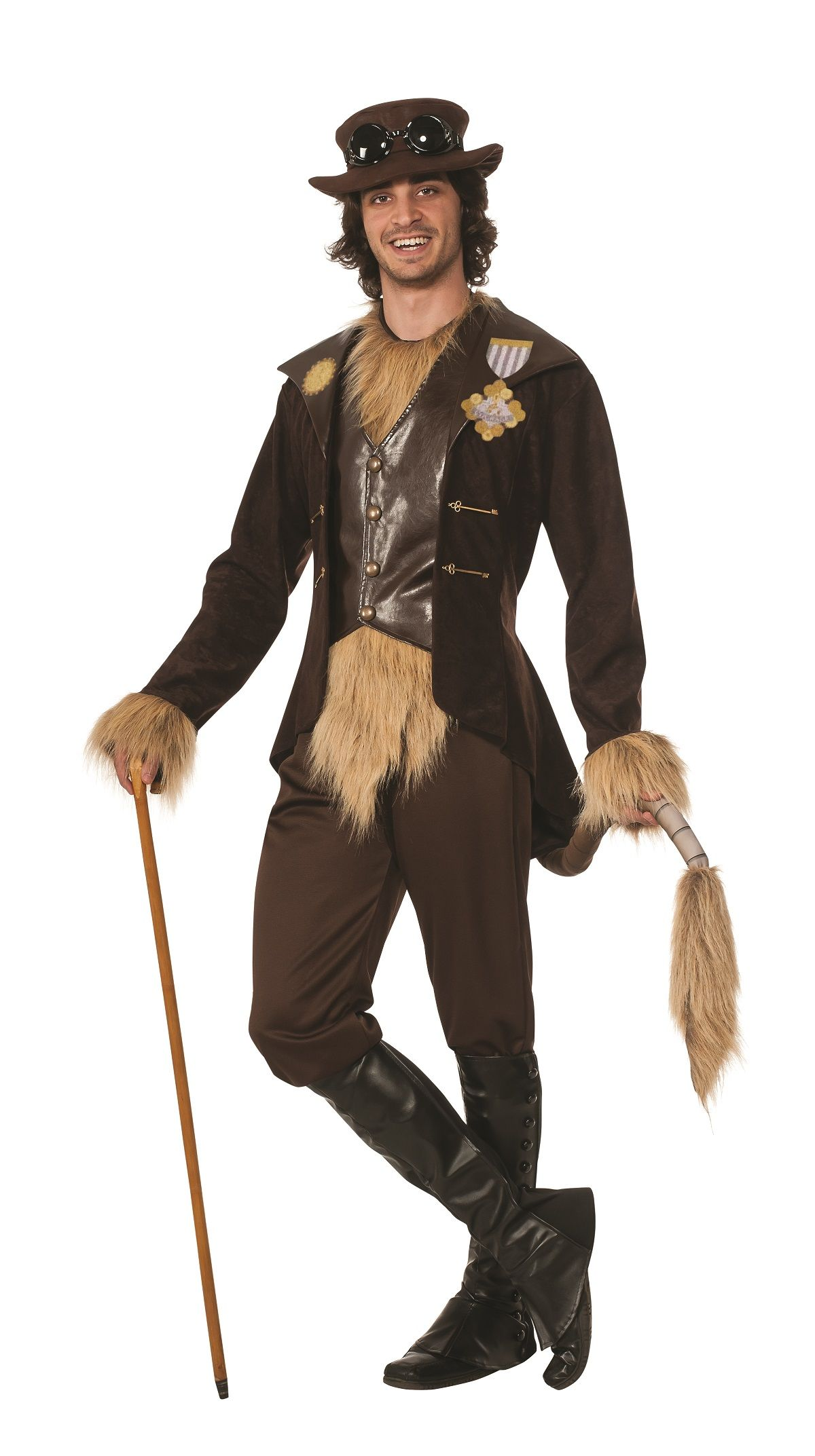 Steampunk Cowardly Lion | Theater makeup inspiration | Pinterest ...