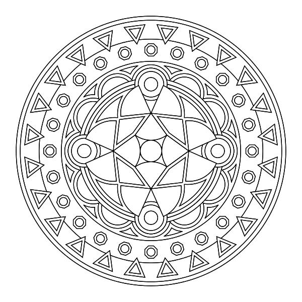 Mandala para imprimir 23 - La Guía de Mandalas | patterns and ...