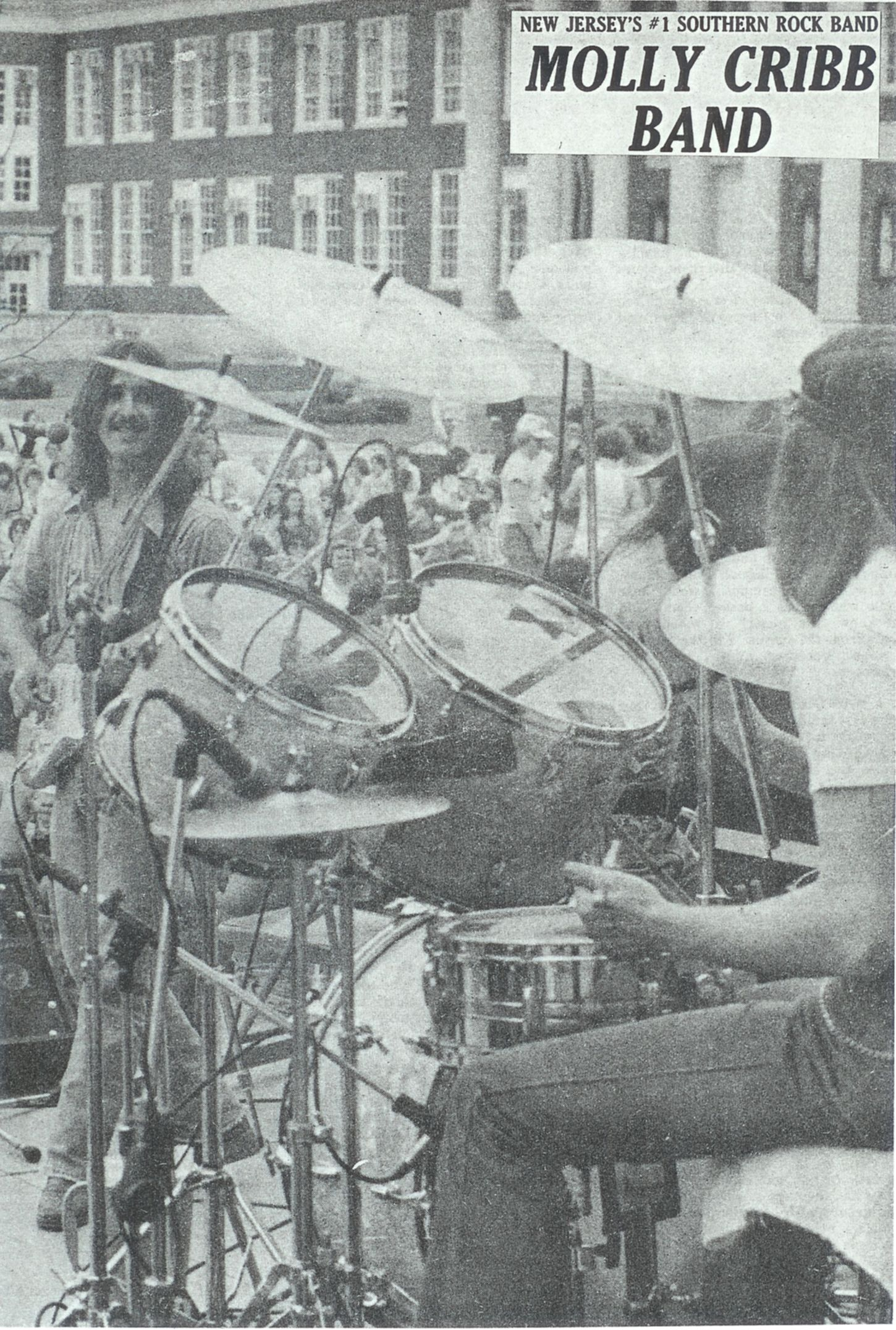 The Molly Cribb Band at Trenton State College that is now The ...
