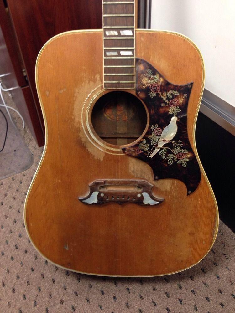1968 Gibson Dove Acustic Guitar Acoustic Guitars Beautiful