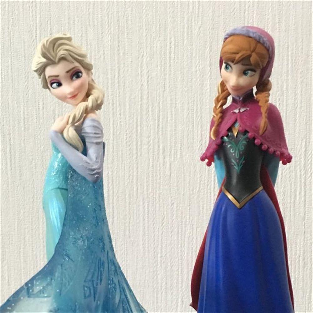 Set of 2 Frozen Elsa /& Anna Premium Figure SEGA