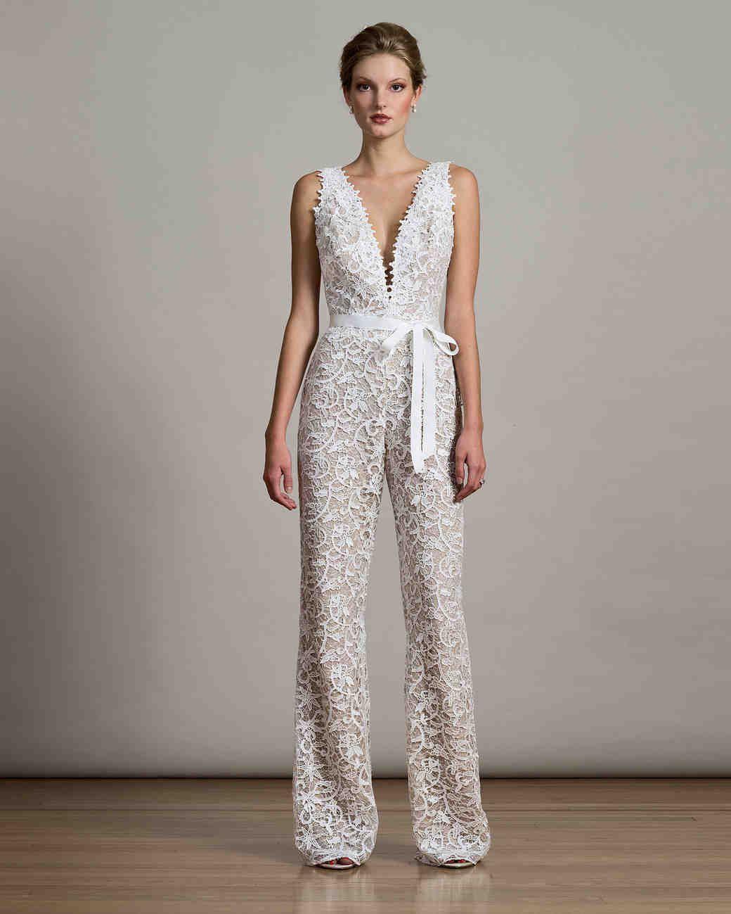 a8e7d8c65cf 40+ Jumpsuit Wedding Dresses Ideas 19 – Fiveno