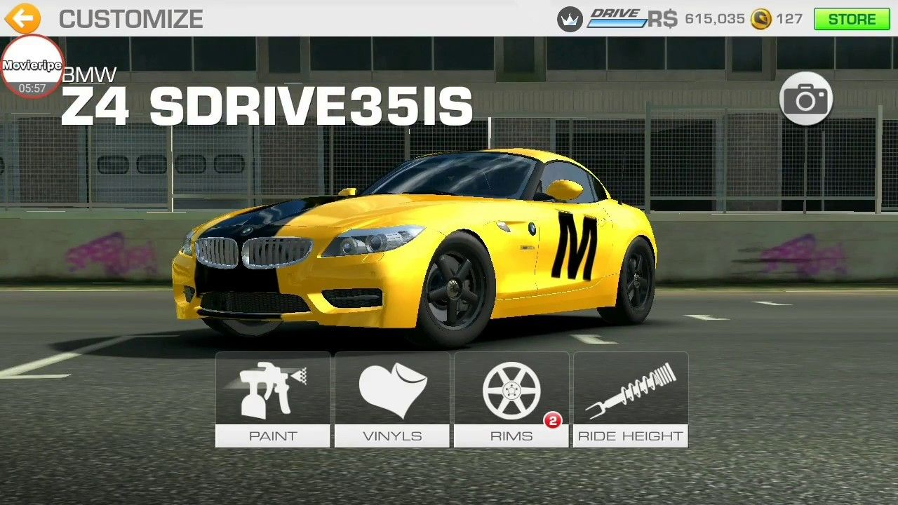 Bmw z4 sdrive customised real racing 3 game movieripe games bmw z4 sdrive35is real