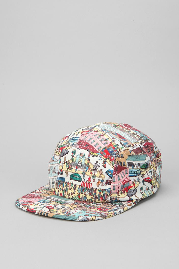 0711f3bc52fd9 Where s Waldo 5-Panel Hat