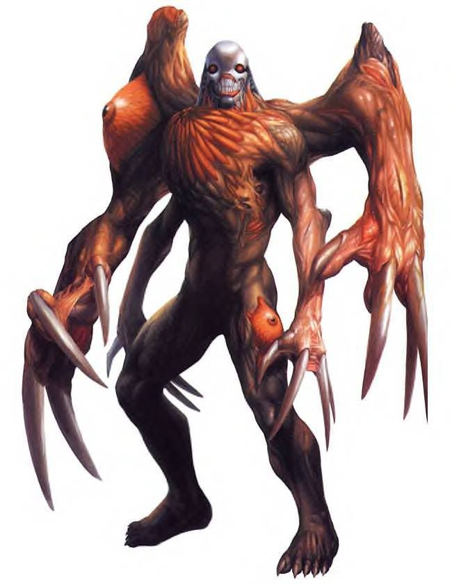G William Birkin 3 Form Resident Evil Monsters Resident Evil