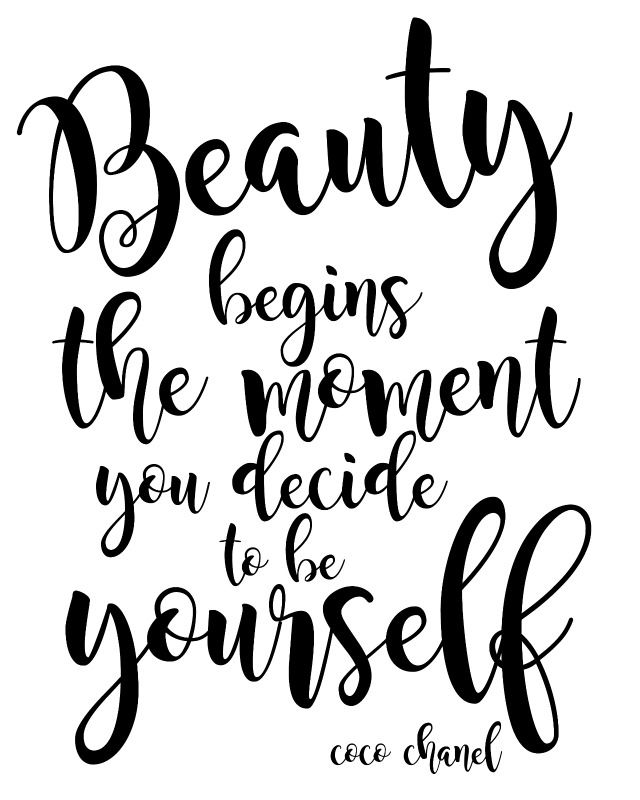Beauty Quote For Vanity Area Vanity Quotes Beauty Quotes Quotes