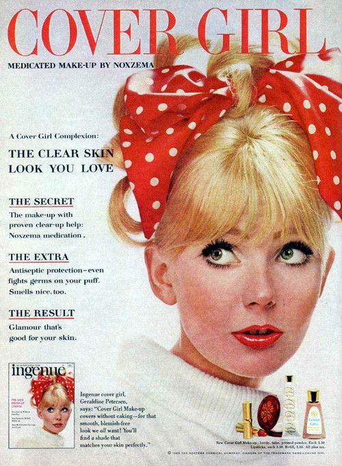 Vintage 1960s Advertisements - Cover Girl Make Up - 1965 ...