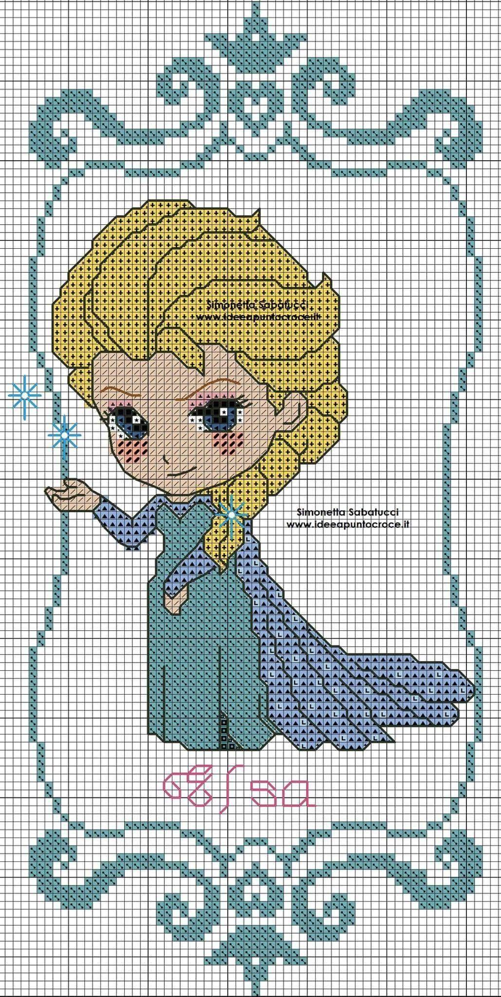 Elsa - Amigurumi Doll Crochet Pattern PDF | Amigurumi doll ... | 2048x1029