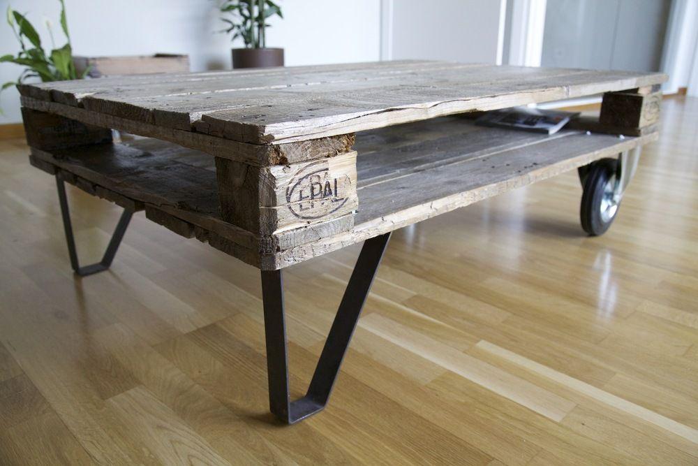 Crea tu propia mesa reciclando palets. DIY sencillo lleno de ...