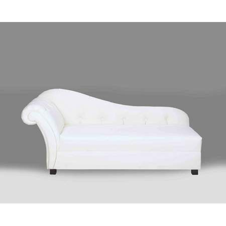 Plaza White Leather Chaise Rentals Furniture Rentals White Chaise Rental Furniture Leather Chaise