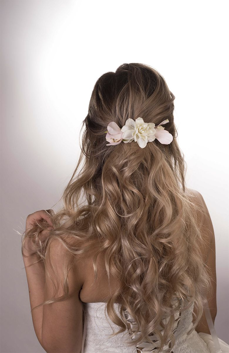 Wedding Hair clip Bridal Flower Hair piece Wedding Gift for bride Bridesmaid gift Hair barrette Gift for women Hair Accessories Wedding