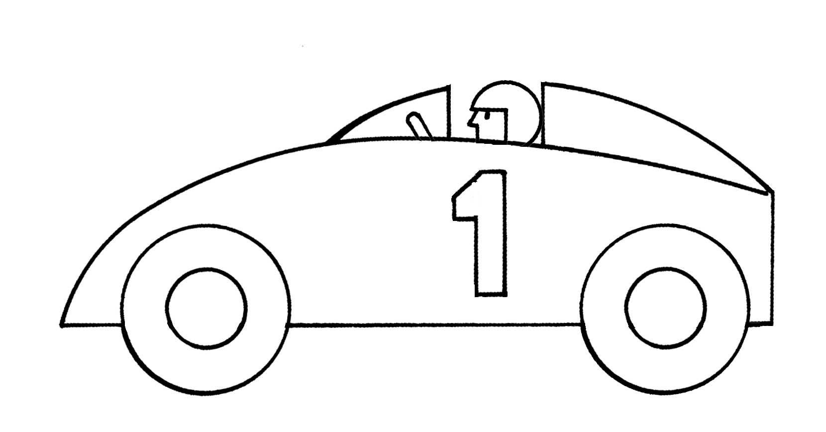44+ Race car clipart black and white ideas