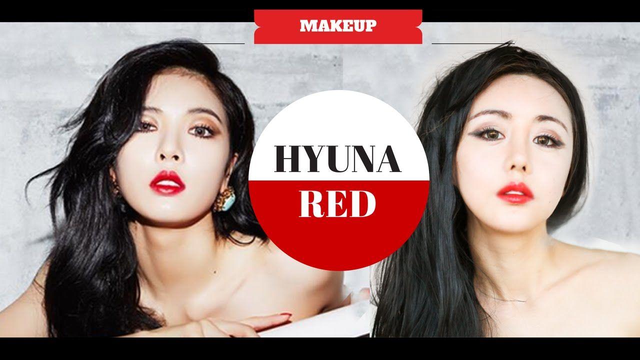 Hyuna red mv makeup tutorial kpop makeup the wonderful world hyuna red mv makeup tutorial kpop makeup the wonderful world of wengie baditri Images