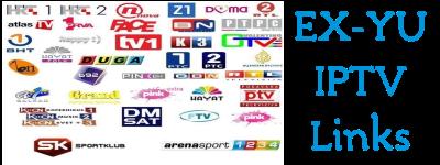 EX-YU FREE IPTV SMART TV 2019 - ex-yu iptv playlist download