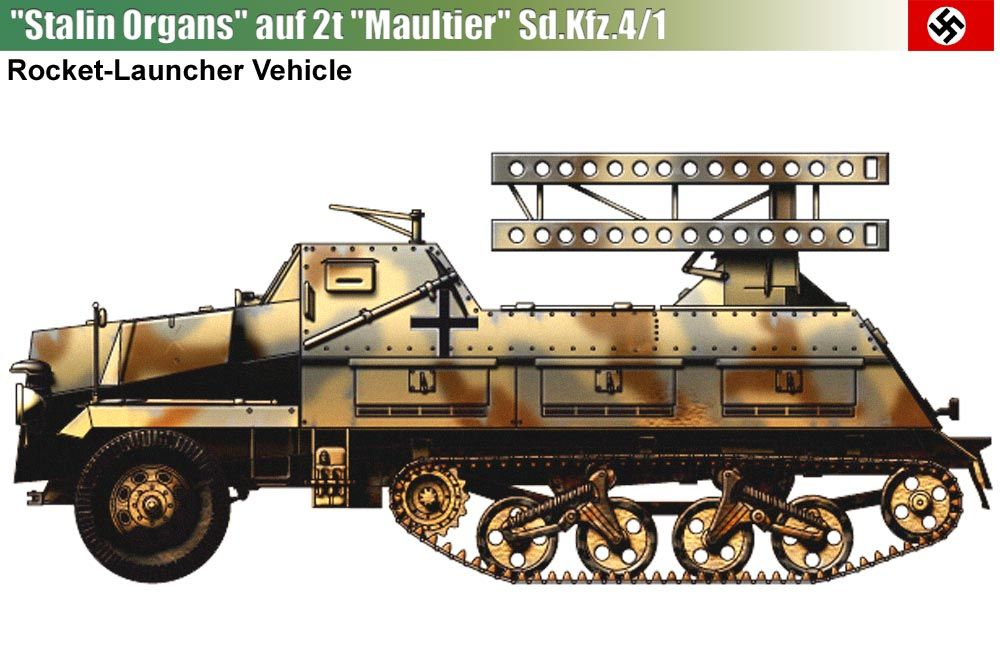 Sd.Kfz.4/1 with Stalin Organs ...