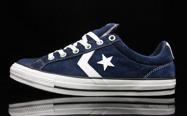 converse star player navy blue