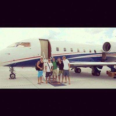 The Crew en route to the Bahamas @mattcrown @ryanschwartz1 @cortsify by andrew_reid36