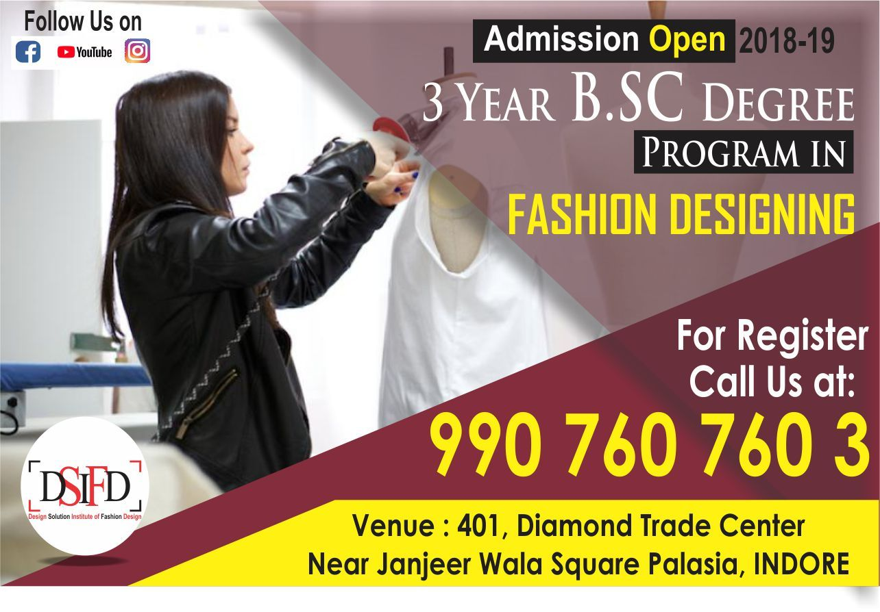 Pin On Fashion Designing College In Indore Dsifd Indore