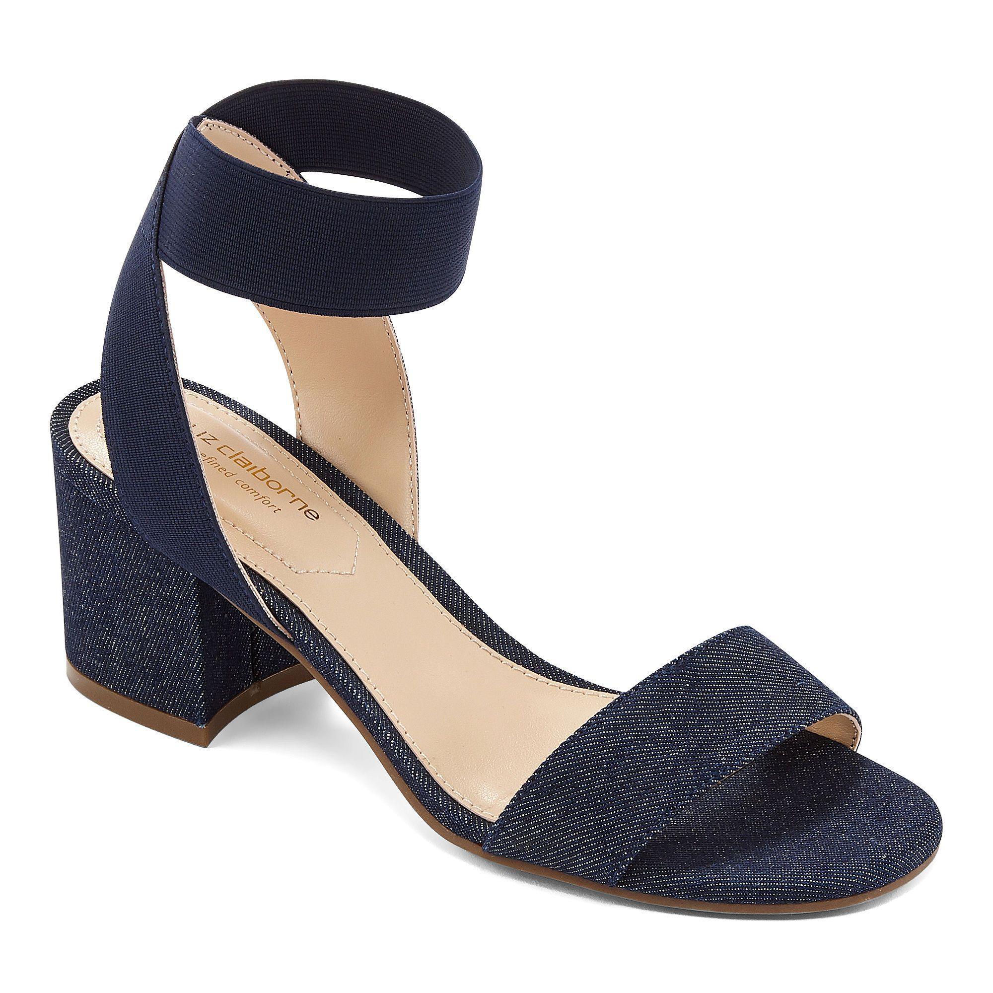 Liz Claiborne Womens Eastwick Strap Sandals Jcpenney Liz