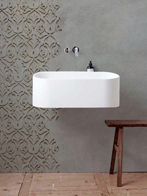 Tendencias en decoración paredes de cemento Pinterest Paredes - paredes de cemento