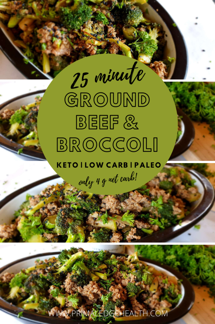 Ground Beef And Broccoli Stir Fry Keto Low Carb Dairy Free Paleo Recipe In 2020 Ground Beef And Broccoli Broccoli Beef Keto Beef Recipes
