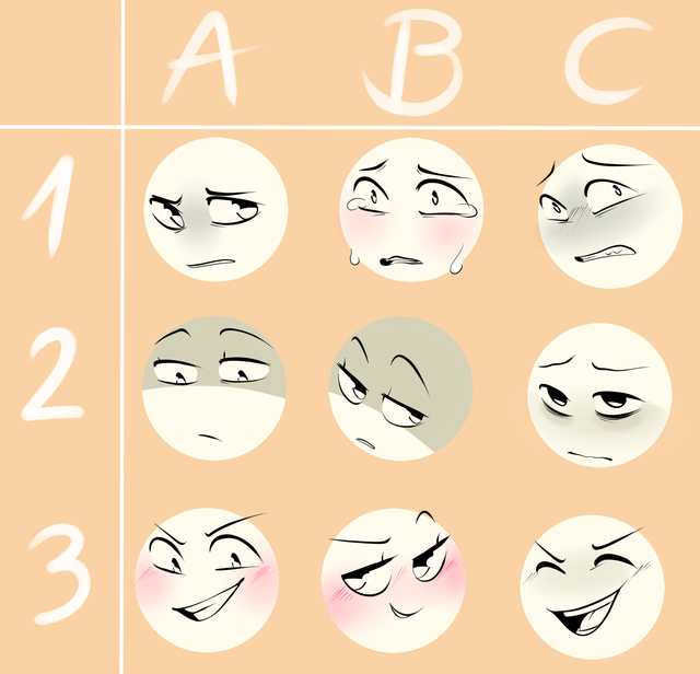 Emotion Drawing Expressions Drawing Face Expressions Art Reference Poses