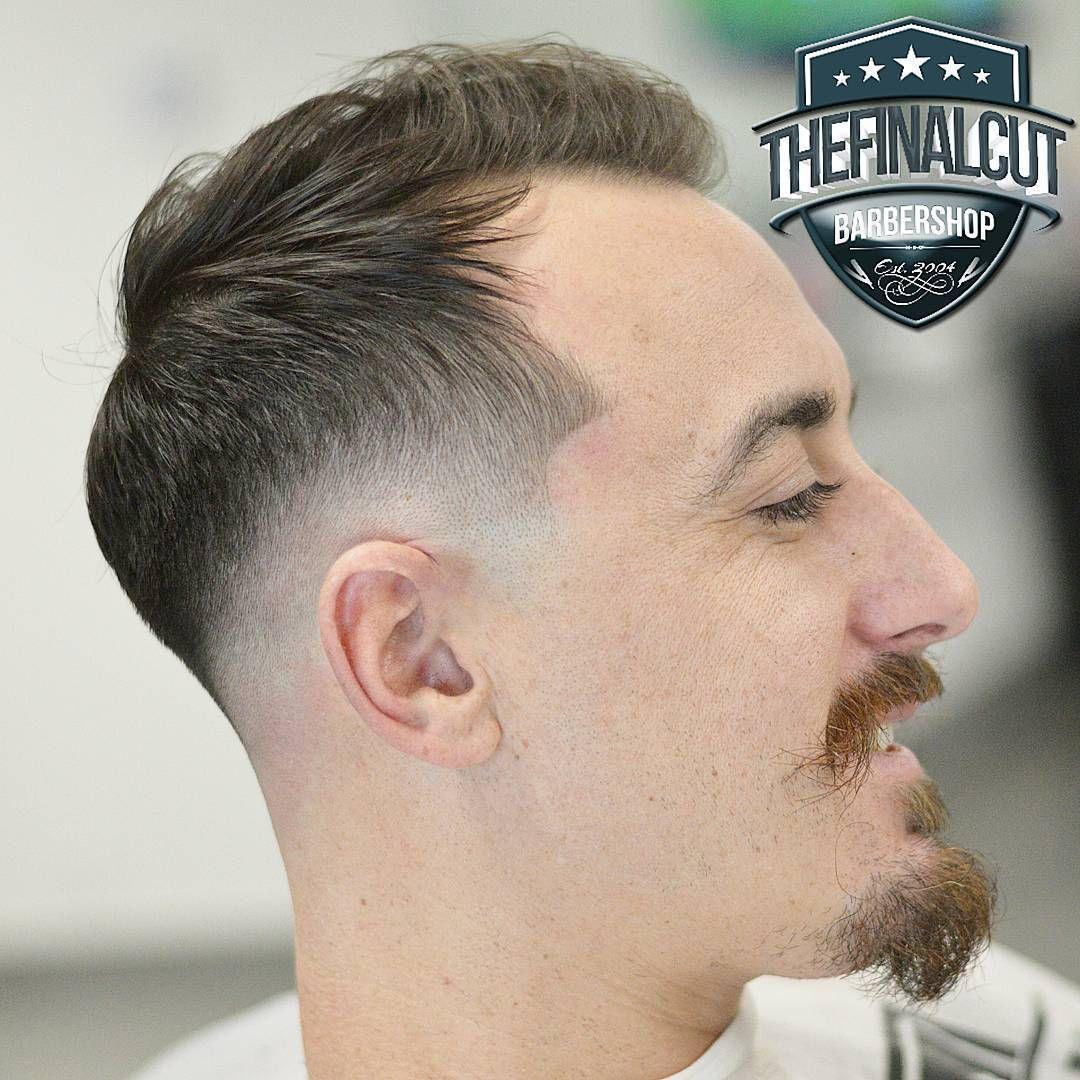 Temple And Nape Fade Haircut Balding Mens Hairstyles Haircuts For Balding Men Mens Haircuts Thin Hair