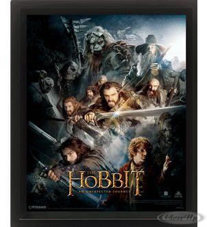 The Hobbit - An Unexpected Journey 3D Poster Hier bei www.closeup.de