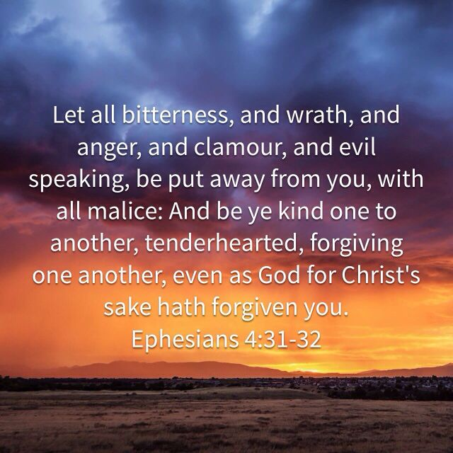 Ephesians 4:31-32 | Psalms, Kjv, Ephesians