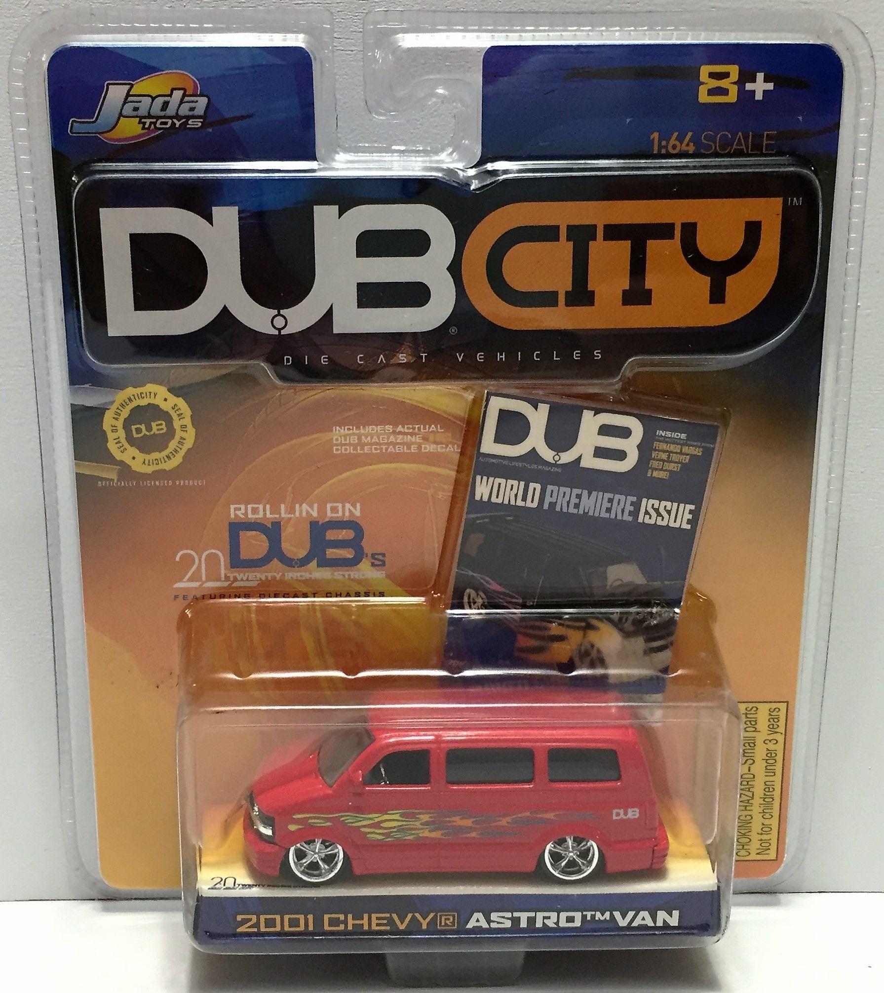 TAS034141) - 2001 Jada Toys Dub City Die-Cast Vehicles - 2001 Chevy ...